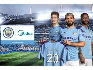 Манчестер Сити объявил о новом глобальном партнерстве с крупнейшим в мире производителем бытовой техники Midea.